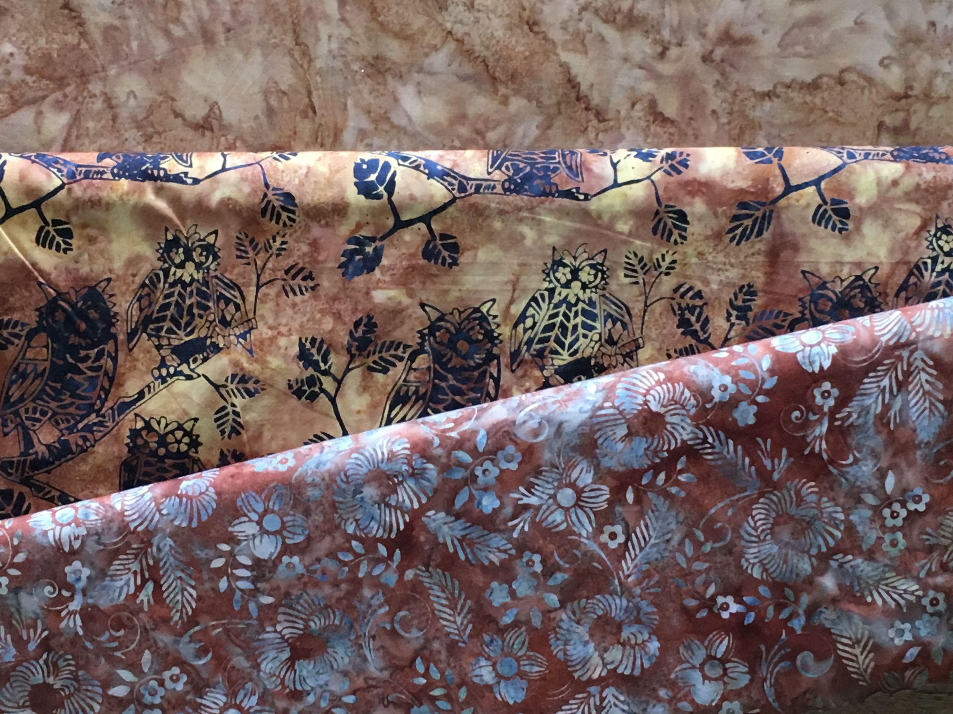 Batik braun beige