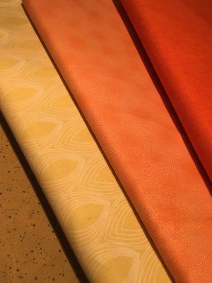 gelb/orange - jaune/orange