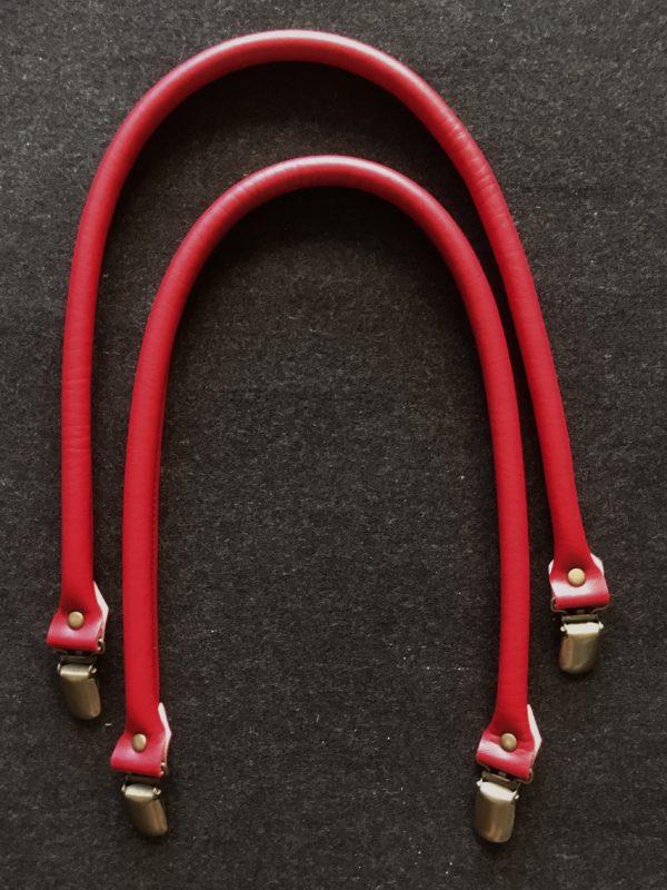 Taschengriff mit Verschluss rot