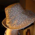 Chapeau fleurs