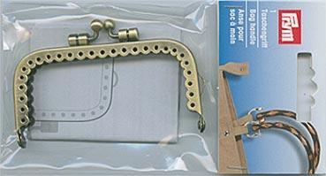 Taschenverschluss Fiona 8,5 x 4,5cm altmessing eisen (5)