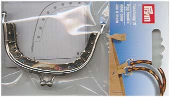 Taschenverschluss Julia 7,5 x 4 cm silberfarbig (3)