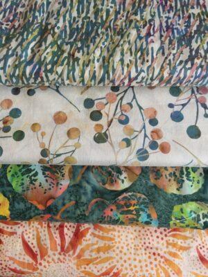Batik Stoffe / Tissus batik