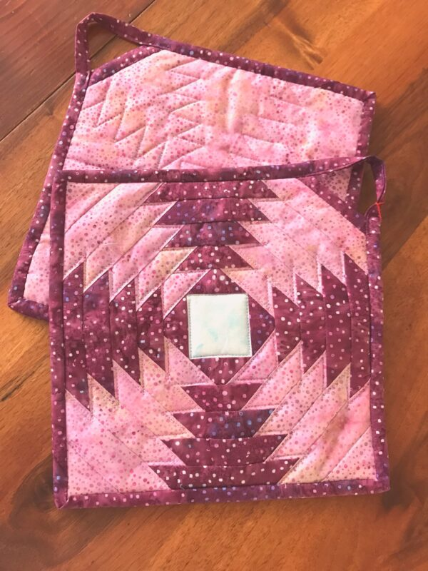 topflappen ananas pink